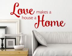 """Wandtattoo """"Love home"""" für ein geliebtes Zuhause"""