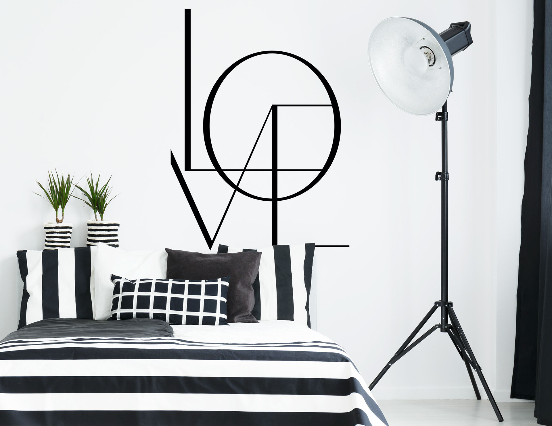 wandtattoo i love london. Black Bedroom Furniture Sets. Home Design Ideas