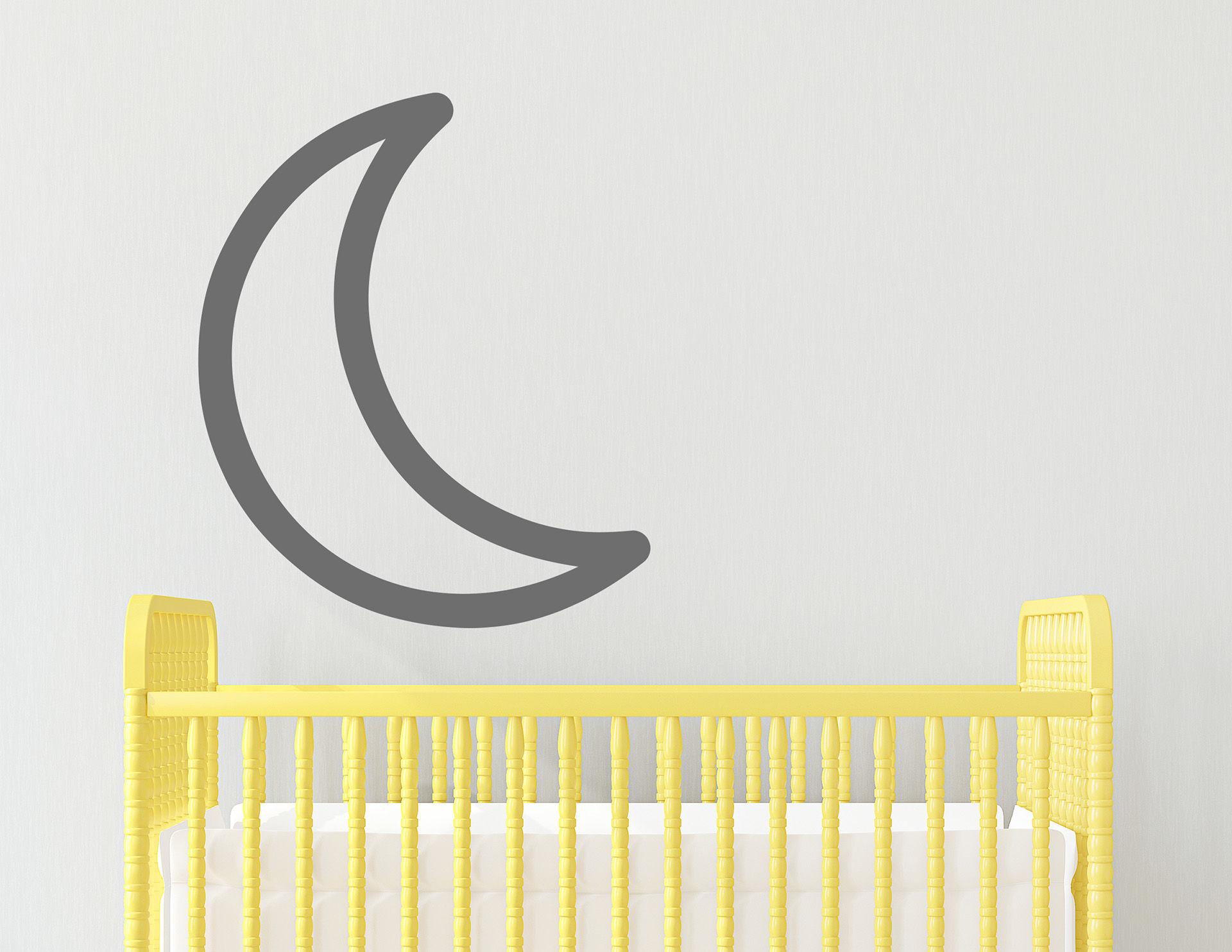 Wandtattoo Moon