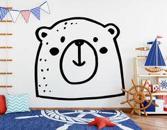 """Wandtattoo """"Nanuk das Eisbärbaby"""" für Comicfans"""
