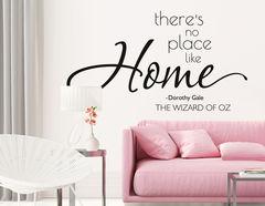 Wandtattoo No place like Home für Dein Zuhause.
