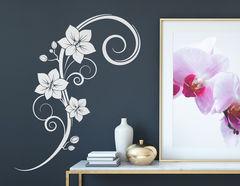"""Wandtattoo """"Orchideenbouquet"""" bringt Weiblichkeit in Räume"""