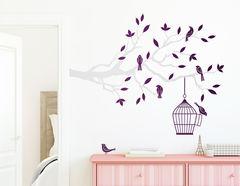 """Wandtattoo """"Vogelparadies"""" bringt Leben ins Zimmer"""