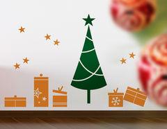 Wandtattoo Weihnachtsbaum Set