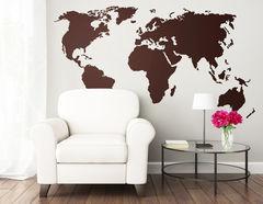 """Wandtattoo """"Planet Home"""" zeigt die Welt"""