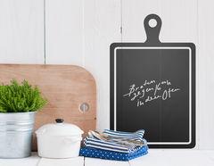 Tafelfolie Küchenbrett