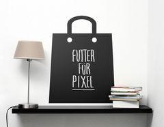 Tafelfolie Shopping Bag