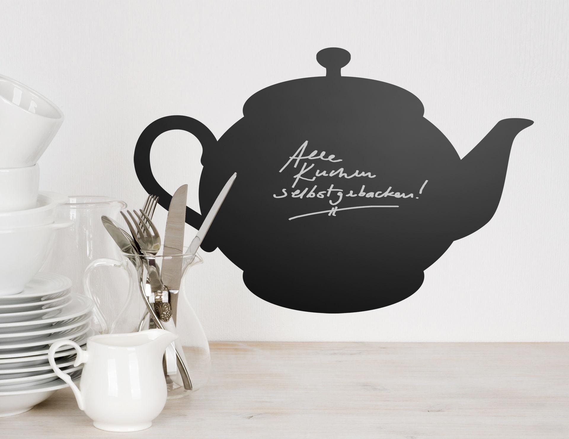 Tafelfolie Tea Time