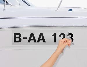 Bootskennzeichen & Bootsnummer - Schritt 2
