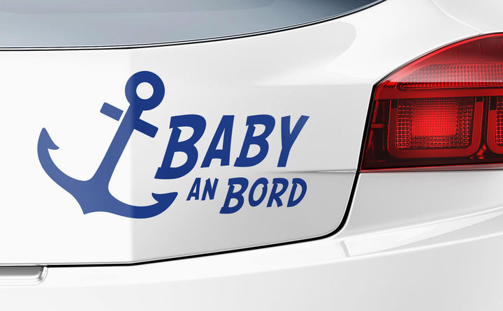 Baby on Board Autoaufkleber