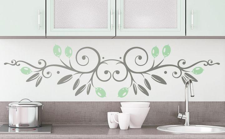 Wandtattoos mit Blumen & Ornamenten - inspirierend schön