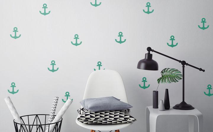 Wandtattoos mit Mustern & Dekoren - faszinierende Wirkung mit wenig Aufwand