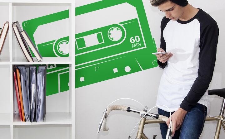 Wandtattoos zu Musik & Instrumenten - Ob Klassik oder Modern, Rock, Pop, Indie, Folk oder Electro... Musik verbindet alle Menschen.