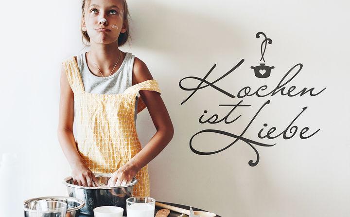 Wandtattoos zu Kochen & Backen - lassen Feinschmecker-Träume wahr werden
