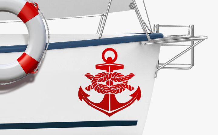 Bootsaufkleber