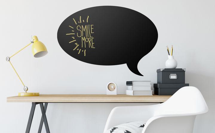 Tafelfolien verbinden Kreativität & Lernen - einfach bemalen und wieder abwischen.