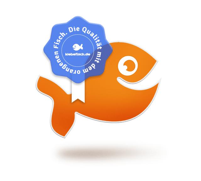 Markenqualität vom orangenen Fisch!