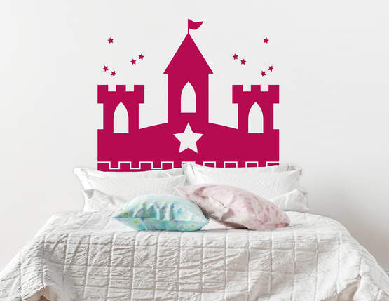 Wandtattoo Märchenschloss