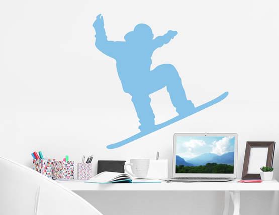 Wandtattoo Snowboarder für echte Wintersport-Fans