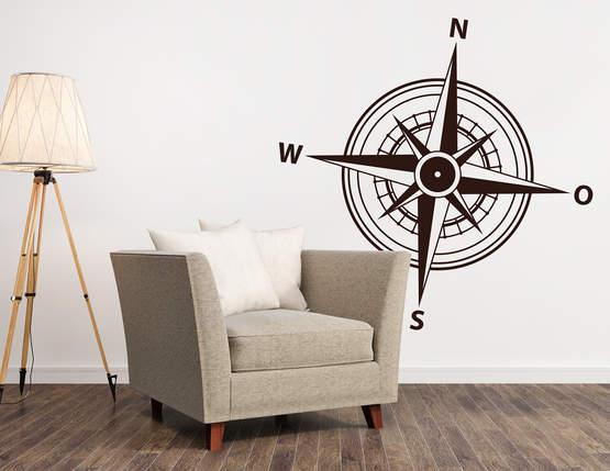 Wandtattoo windrose symbolisiert deine heimat for Farbauswahl wohnung